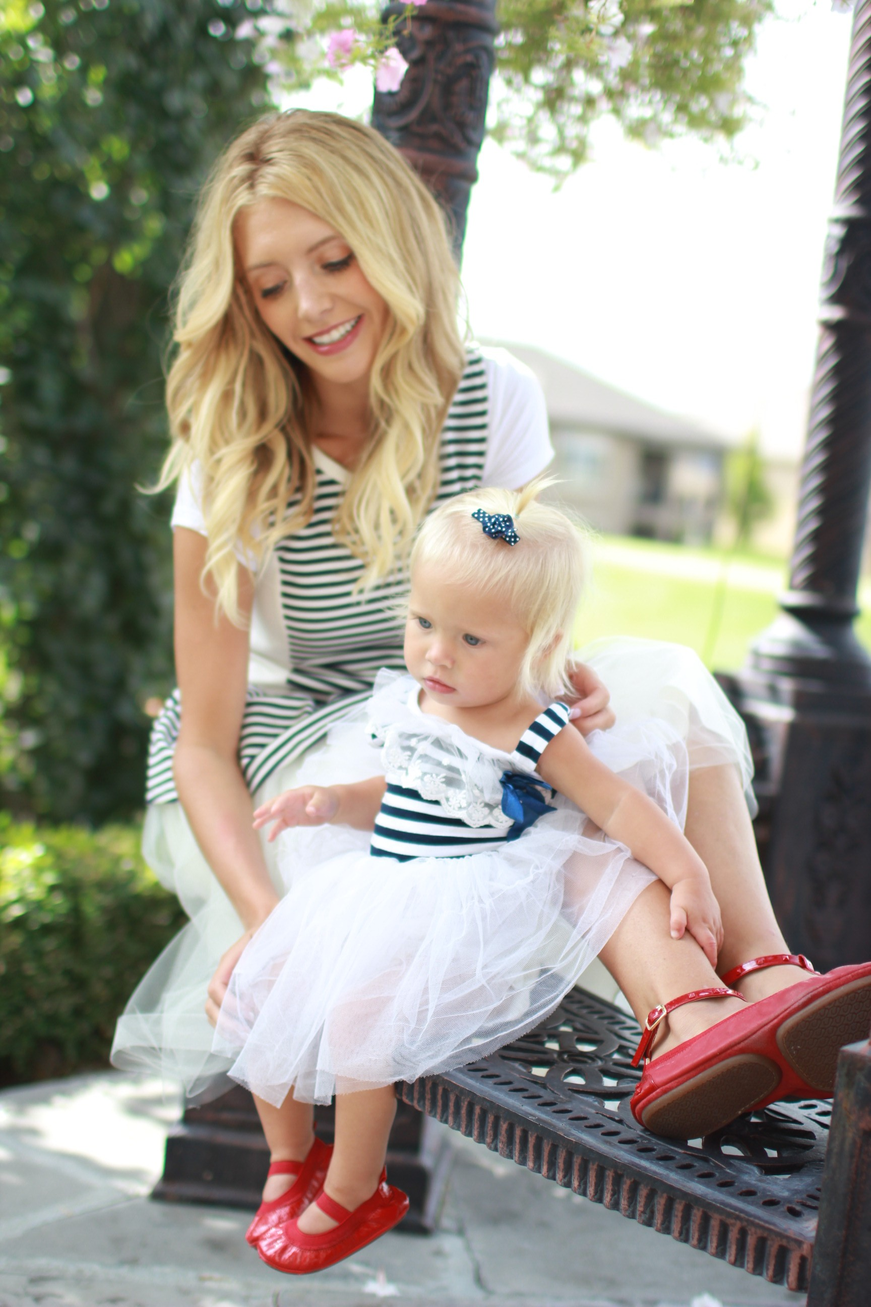 bliss tulle mommy and me