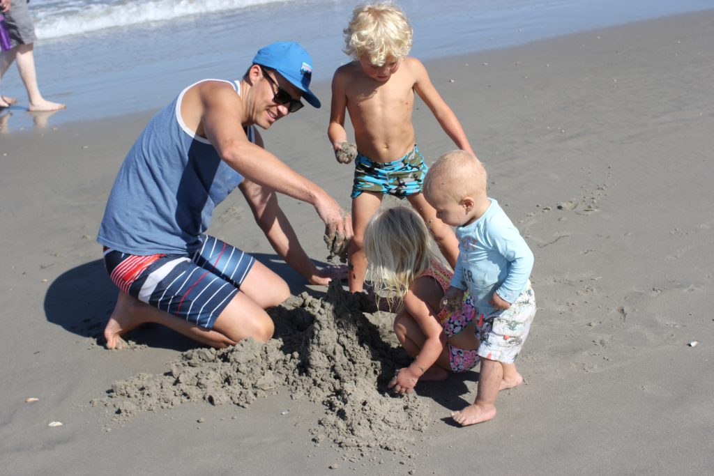 droopy sandcastles
