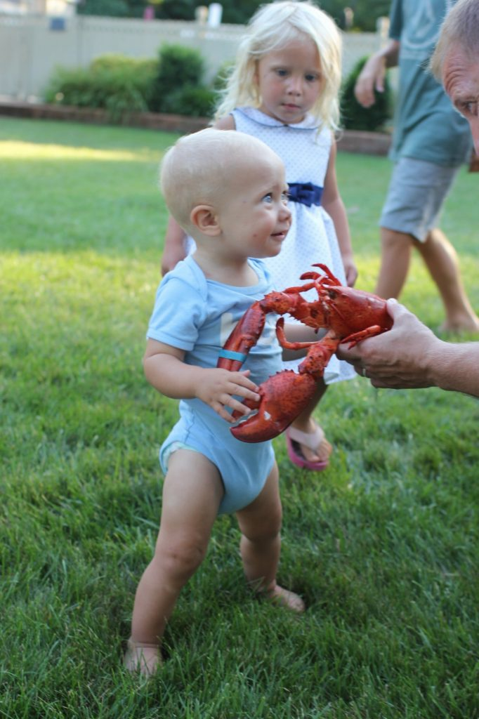 lobster and kids